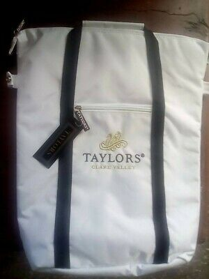 "3 Wine Bottle Cooler Bag ""Taylors Estate"" Collectible"