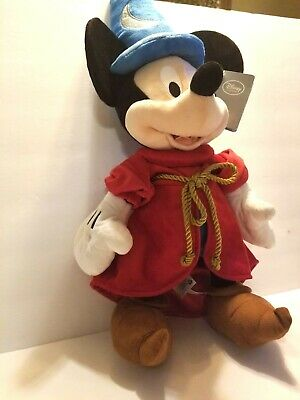 Stofftiere Disney Fantasia Sorcerer Mickey Mouse Plush Toy  24