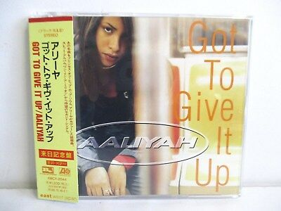AALIYAH got to give it up 4tracks JAPAN AMCY-2044 PROMO CD OBI
