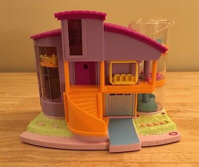 Polly Pocket Bluebird Magic Movin' Ultimate Clubhouse 2000 w/ Lights & Sound!