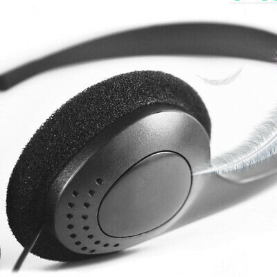 3.5mm Wired Stereo Headset with Mic Microphone Headphone For PC Laptop Computer