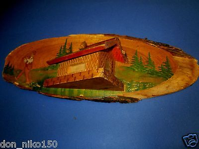 Vintage Wooden Hanging Wall Rustic House decor shepherd 3D #3