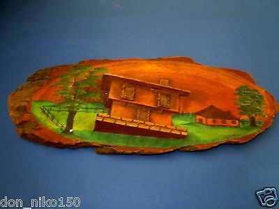 Vintage Wooden Hanging Wall Rustic House decor 3D #1