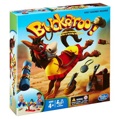 Buckaroo Board Game by Hasbro Age 4 Plus New and sealed.