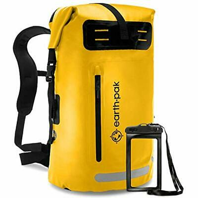 Earth Pak Dry Bags Waterproof Backpack 35L / 55L Heavy Duty Roll-Top Closure And