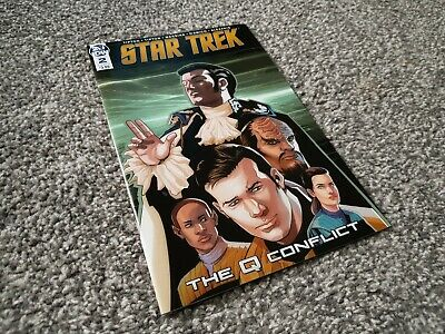 STAR TREK: THE Q CONFLICT #2 Cvr A (2019) IDW
