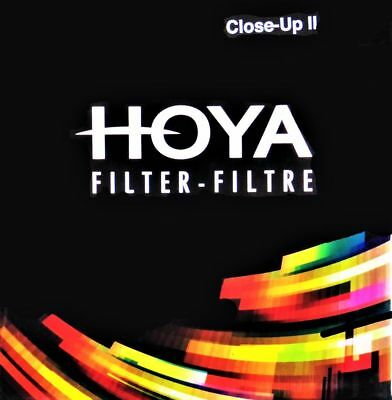Hoya 49mm Close Up II +3 HMC Macro lens filter - New,  UK stock.