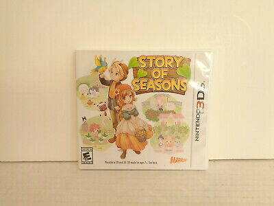 2015 Marvelous XSeed Games Story of Seasons Nintendo 3DS Game Complete