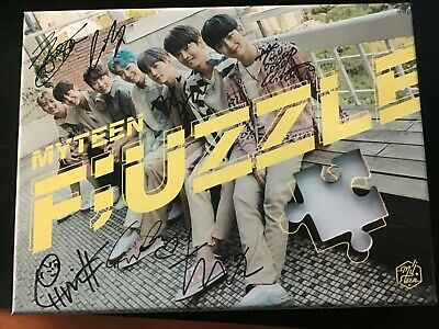 MY TEEN [FUZZLE] Autograph(Signed) ALL MEMBER  PROMO ALBUM KPOP