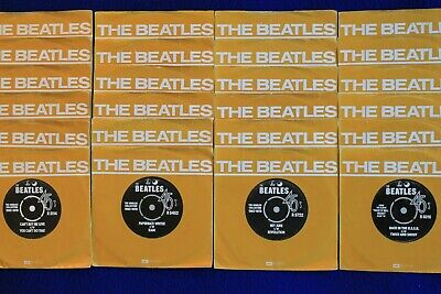 THE BEATLES Singles Collection SET 24xSP Holland Club Issue EXCELLENT CONDITION