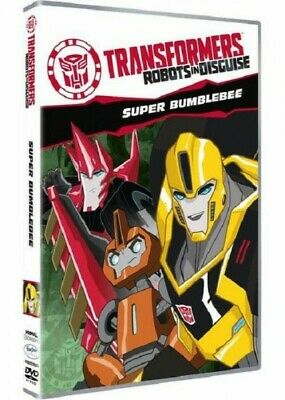 Transformers Robots in Disguise Super Bumblebee Volume 2 DVD Nuovo Imballato
