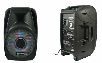 "Cassa Audioportatile Amplificata  12"" Bluetooth + Radio Usb/Sd + Display Pa 1000"