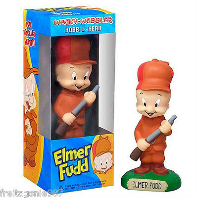 Looney Tunes Elmer Fudd PVC Bobble-Head Figure 15cm Funko