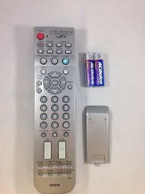 Epson 129934300 TV, SBT1, SBT2, VCR, DVD Remote Clean Tested w/Battery EP14