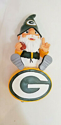 Forever Collectibles Green Bay Packers NFL Gnome On Team Logo 2016 Mad Hatter +