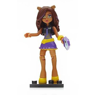 Mega Bloks Monster High Ghouls Skullection Mini Figure Series 3 Clawdeen - New