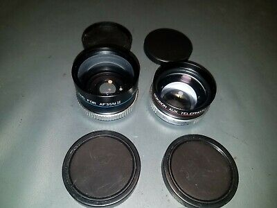 ROKINON Telephoto and Wide Angle Lens for  AF35M II made in Japan