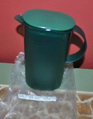 Tupperware Impressions Small Pitcher 500 ml Emerald Green Rocker FlipUp Lid 3535