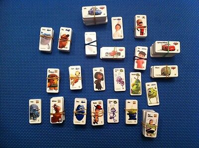 Disney Pixar Stars Dominos - Woolworths - Choose Any 4 From List For $3.50