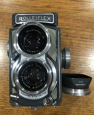 Excellent Condition Germany Rolleiflex Twin Lens Camera Xenar 60/3.5 Lens