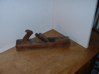 """Antique 16"""" Wooden Plane with Spear & Jackson Blade"""
