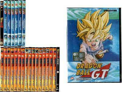 Dvd Lotto DRAGON BALL - 24 DVD - classica - z - gt - DE AGOSTINI