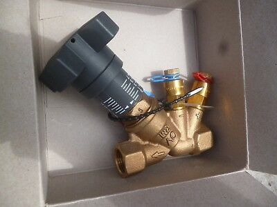 "Altech DZR Balancing Commissioning Valve 1//2/"" BSP DN15 For Heating Systems"