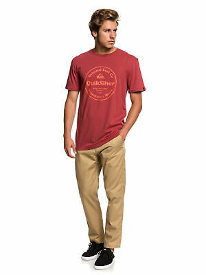 Quiksilver 'Secret Ingredients' T-Shirt - ('Brick Red')
