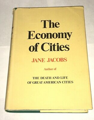 The Economy of Cities by Jane Jacobs 1969 First Edition Hardcover Urban Planning
