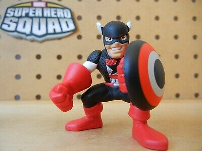 Marvel Super Hero Squad US AGENT (Captain America in Black) from Collectors Pack