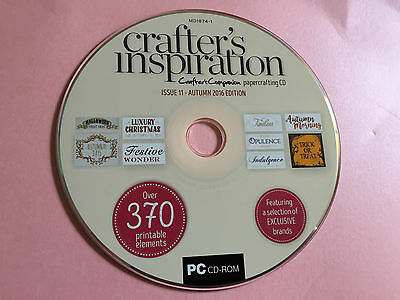 Crafters Inspiration Issue 11 Cd Crafting Resource Cd Crafters Companion