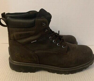 93776c8ee97 WOLVERINE MENS LEGEND Size 9 Boot Work Shoes Brown Leather ...