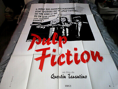 Affiche  Tarantino / Travolta / Pulp Fiction / 120X160
