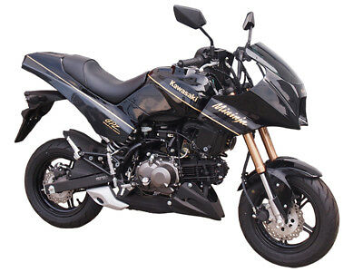 Made to order Mininja Z125 exterior kit reviving GPZ900R with paint (GRN or BLK)