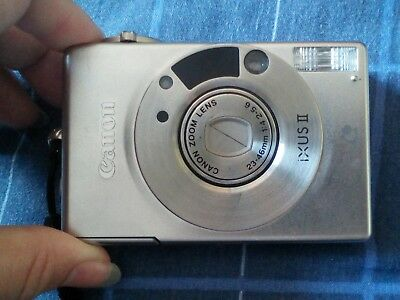 Canon IXUS II Compact Film Camera - Good Condition