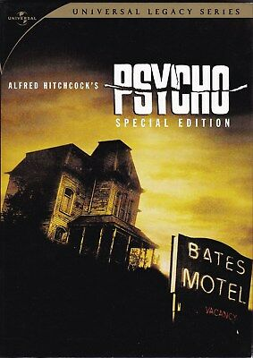 Psycho - 2 DVD Universal Legacy Series Special Edition (Alfred Hitchcock)