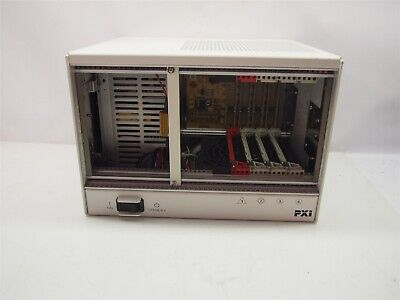 National Instruments PXI-1031 4 Slot Mainframe 190871D-01 Rev 1.1
