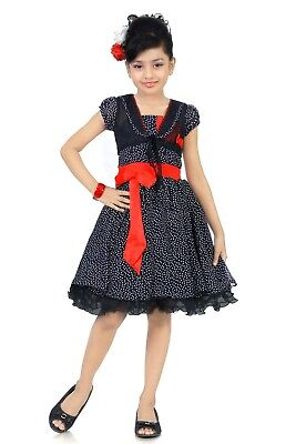 Kid Indian Bollywood Ethnic Party Frock for Girl's