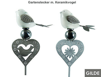 5150 Medusa Gartenstecker Kolibri Metall Gartendeko Gartenstecker Beetstecker