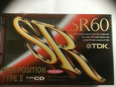 Tdk Sr 60 Factory Sealed Audio Cassette Japan