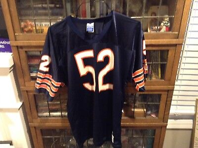 4102ff90dac CHICAGO BEARS 52 Brian Cox Wilson Made In Usa Football Jersey Nfl Xl ...