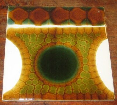 Pilkington Alan Wallwork Tile No3 Mid 1960S