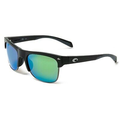 988cdf3db8dbd new COSTA DEL MAR PAWLEYS polarized sunglasses BLACK GREEN MIRROR 580p 580