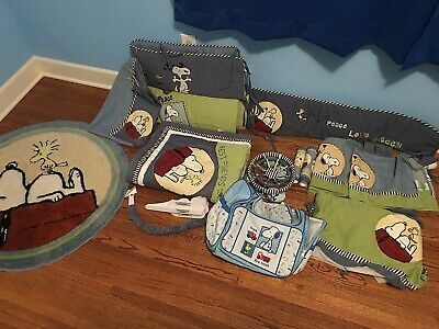 Snoopy / Peanuts -  Baby / Nursery Room Crib Theme Accessory Collection