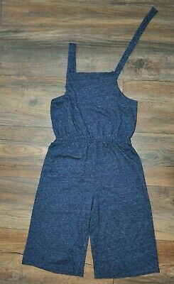NEXT Girl Summer Playsuit Outfit Shorts Holiday Navy Blue 8 Years