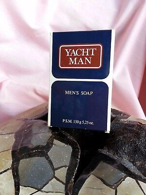 Jabón Savons Savon MEN'S SOAP YACHT MAN ORIGINAL Vintage & RARE COLLECTION