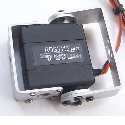 Durable Metal Gear Digital RDS3115MG RC Robot Torque Servo Dual Ball Bearing
