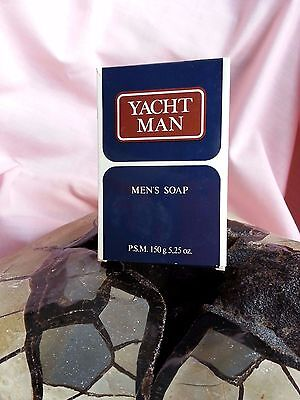 Jabón Savon  YACHT MAN MEN'S SOAP Vintage Original Fragancia