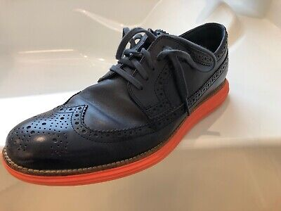 Men/'s Cole Haan Original Grand Wingtip Oxford C22503 Size 9 Ironstone//Ivor