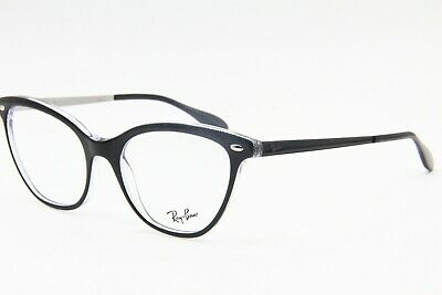 c3f2cbd31cf36 New Ray-Ban Rb 5360 2034 Black Eyeglasses Authentic Frame Rx Rb5360 54-18